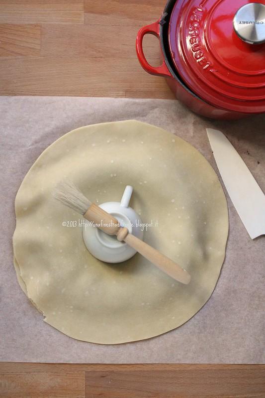 Pie di radicchio: fase 4