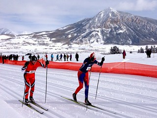 'FIS Junior Nordic National event at Crested Butte Nordic Center, Colorado' by<br /> TRAILSOURCE.COM