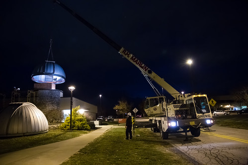 The Observatory gets a new dome