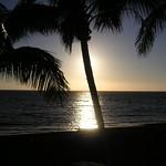 Sonnenuntergang am Strand von Puerto Naos
