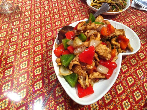 Orange Chicken Cashew Stir Fry
