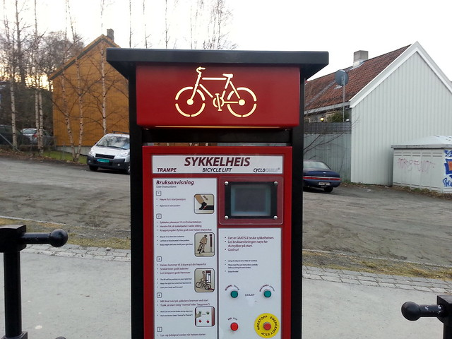 Trondheim Bicycle Lift (Elevator)