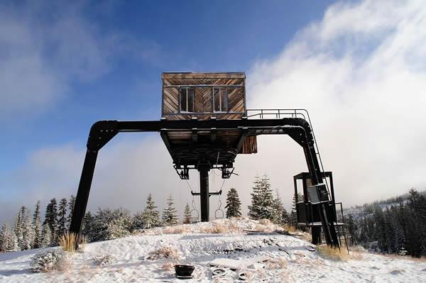 Abandoned lift