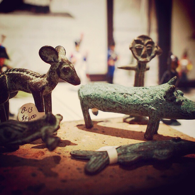 Bronze animals