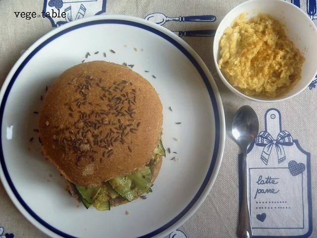 ricetta vegan, vegano, panino vegano