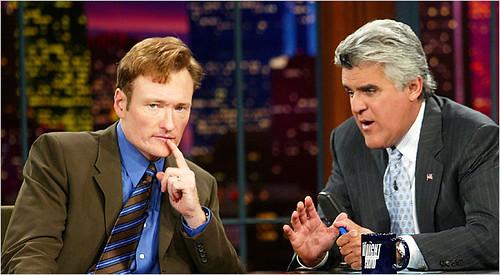 Jay Leno Conan O'Brien