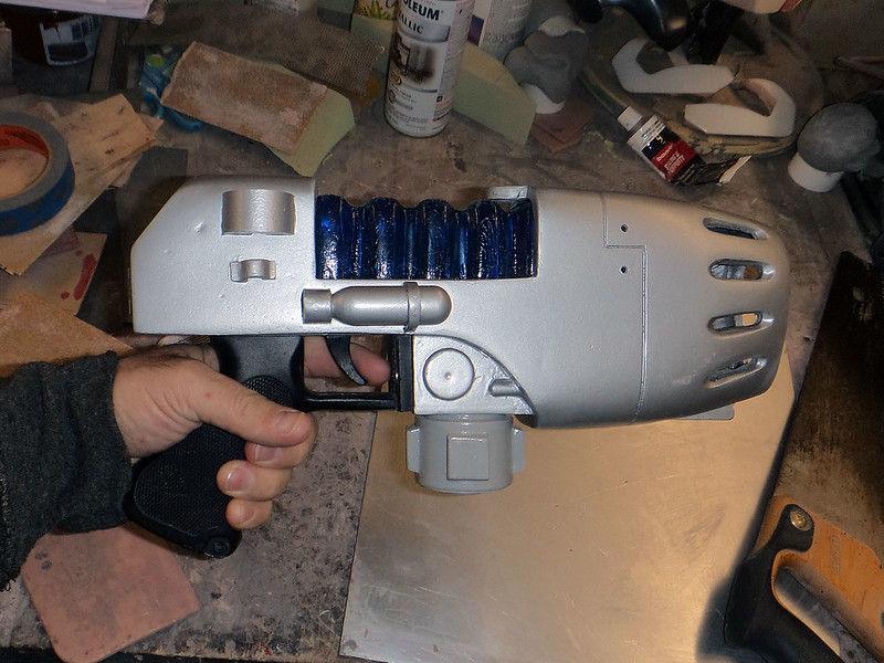 Plasma Pistol Fit Testing