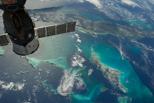 Cuba and the Bahamas (NASA, International Space Station, 12/23/13)