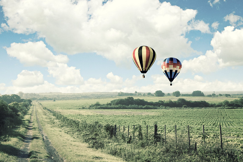 Hot air balloon wallpaper