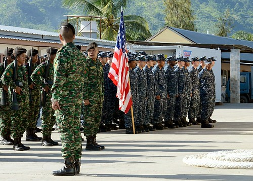 PORT HERA NAVY BASE, Timor-Leste - The U.S. Navy and Timor-Leste Defense Force (F-FDTL) commenced the second Cooperation Afloat Readiness and Training (CARAT) Timor-Leste exercise with an opening ceremony at Port Hera Navy Base.