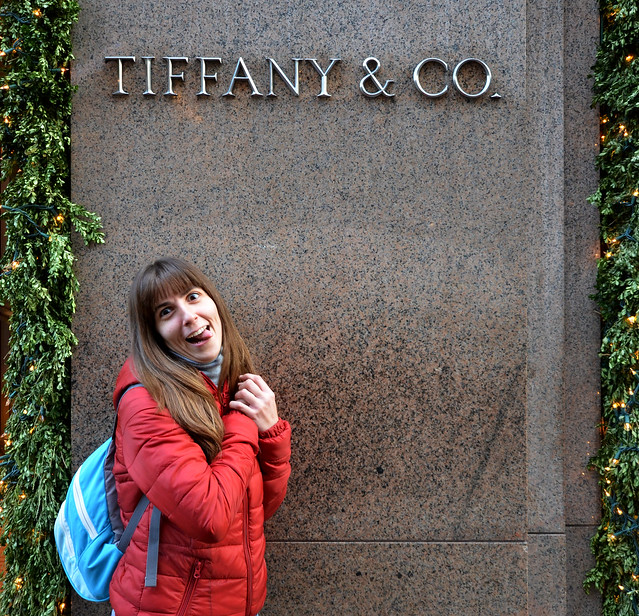 Intentando comprar en Tiffany