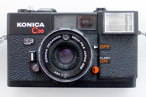 Konica C35 EF by pho-Tony