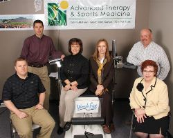 WorkFit board members at Advanced Therapy