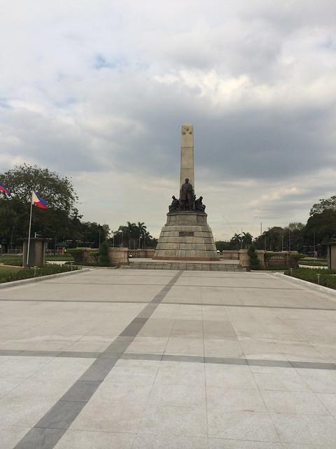 Jose Rizal Monument, Rizal Park