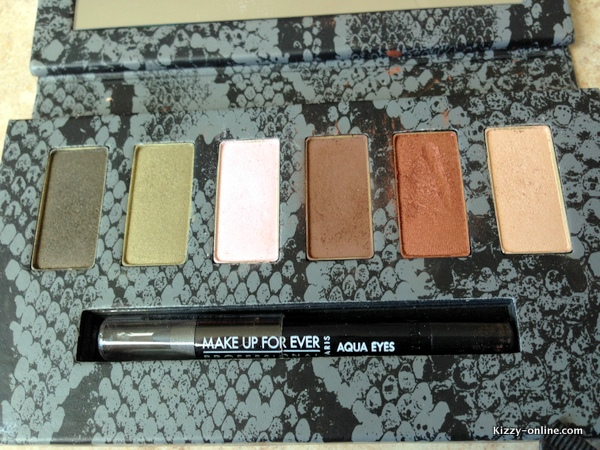 Make Up For Ever Wild & Chic Eye Shadow Palette Sephora