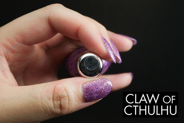 Sally Hansen Gem Crush 05 Be-Jeweled Swatch (Diablo 3 Arcane Nails)