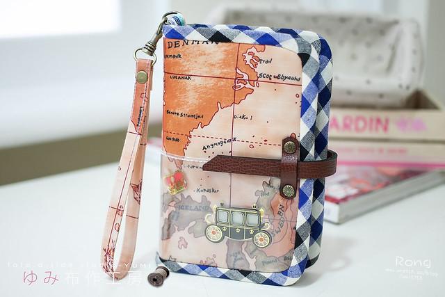 4世界地圖風護照套1
