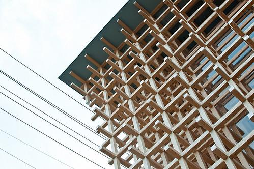 日本建築師隈研吾 - 春日井市齒科博物館研究中心