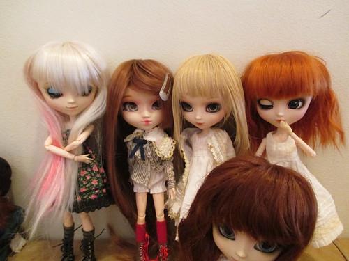 Isot tytöt