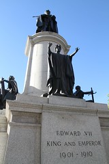 Statue of his Majesty King Edward VII, 2014