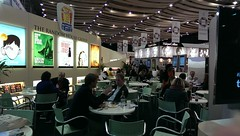 Business amongst the glamour at LBF 2014