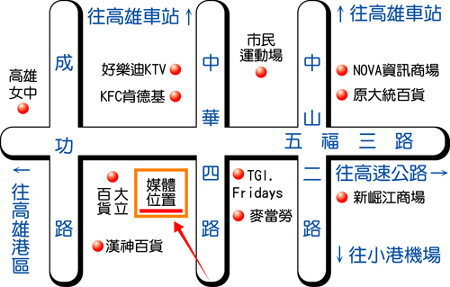 高雄市中華四路-2map