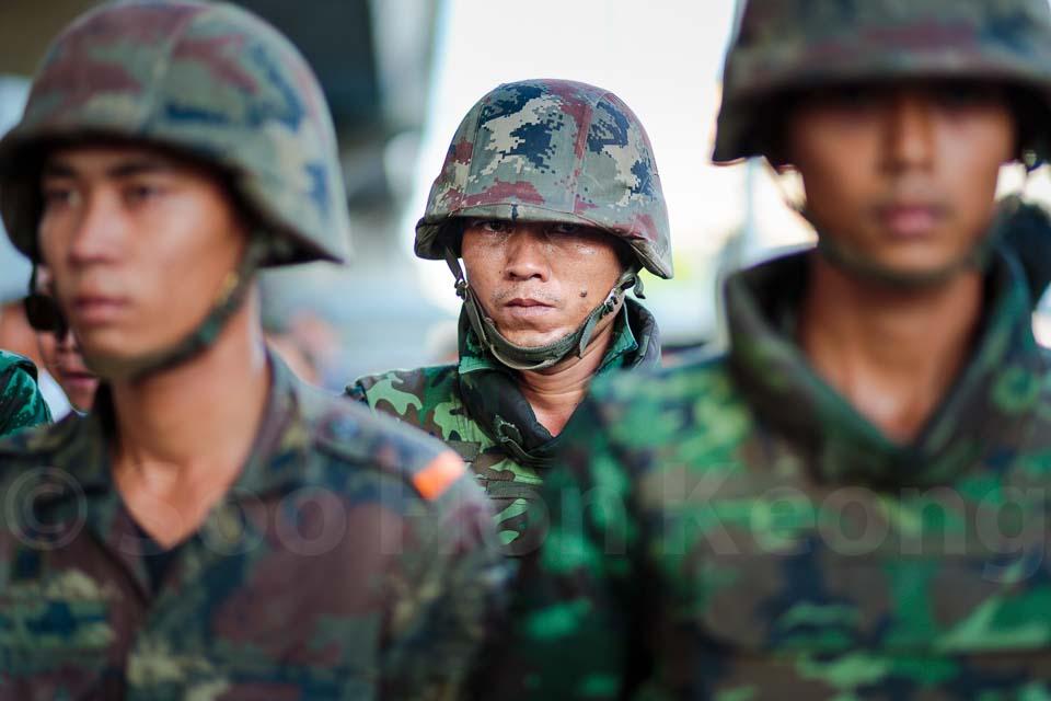 Thailand 12th military coup d'etat @ Bangkok, Thailand