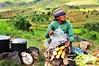 Corn vendor in Ambatofotsy