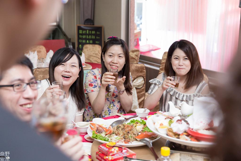 婚禮紀錄-高雄-展誠&鳳綿-文定午宴 X 吉喜海鮮餐廳 (76)