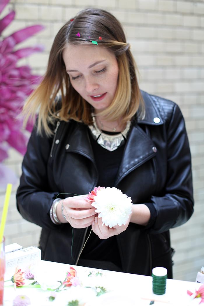 Blumenkranz binden DIY