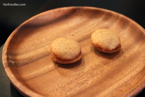 Miso Macaron & Star Anise Butter Cream