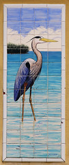 Hand Painted Tile GBH Mural