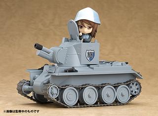 琴魔專用聲控戰車!黏土人配件系列 《少女與戰車 劇場版》BT-42