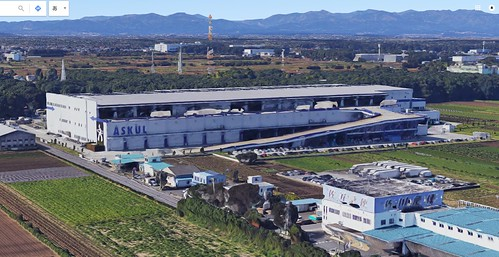 三芳町のアスクル倉庫