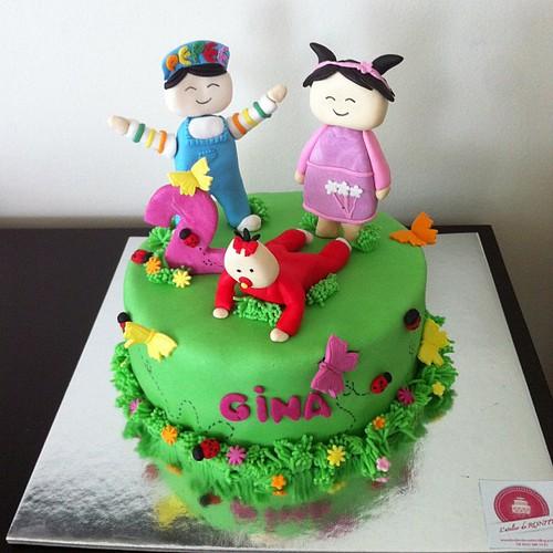 #pepeepasta#shila#bebee#birthdaycake #sugarart #sugarpaste #sekerhamurlupastalar by l'atelier de ronitte