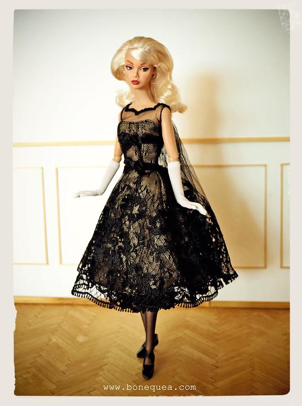 Poppy Parker in Cocktail dress.