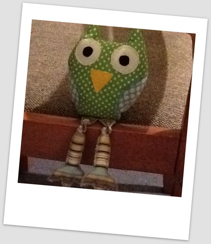 Mr Owl pincushion