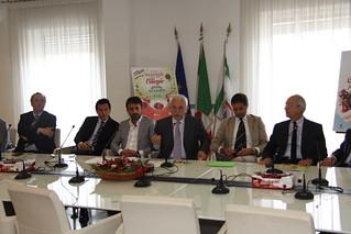 Conferenza stampa ciliegie Bari