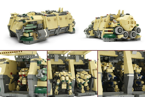 lego imperial dropship instructions