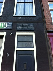 Photo of Willem Drees marble plaque