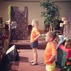 Sarah on the VBS Praise Team at Asbury #fullheart #saltandlight