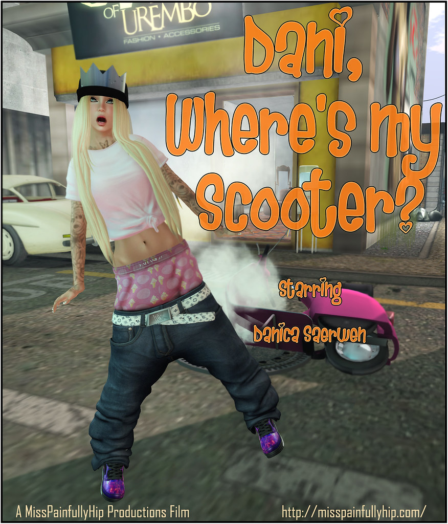 Dani, Where's My Scooter?
