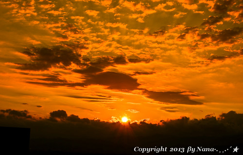 light sky love nature beautiful clouds sunrise nikon taiwan 台灣 taoyuan 日出 早晨 台灣taiwan i 我愛台灣 d7000 aglimmerofsunrise