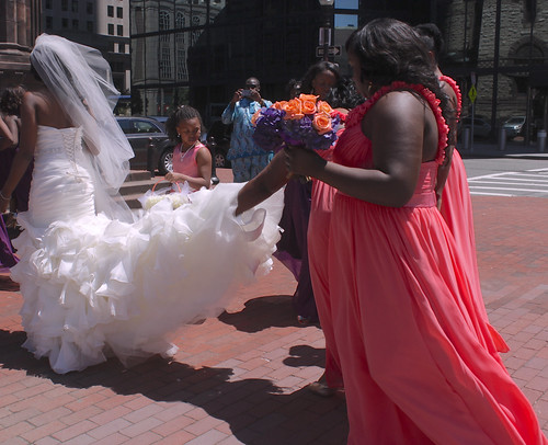 boston copley square copley square church wedding gown bridemaids dresses