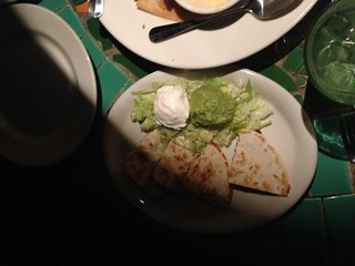 Chicken Quesadilla at Vivo