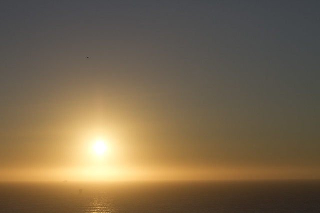 Sun over the pacific (2011)