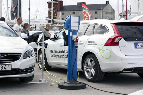 Almedalsveckan Volvo diesel plug in hybrid elbil 20130701 0241F