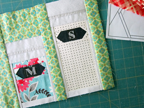 fabric play for the Penny Sampler!