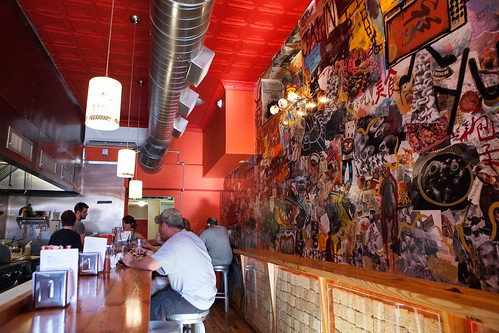 Interior of Cheu Noodle Bar