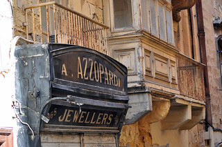 Qué ver en La Valeta: Vieja joyería de La Valeta. Azzopardi Jewellers